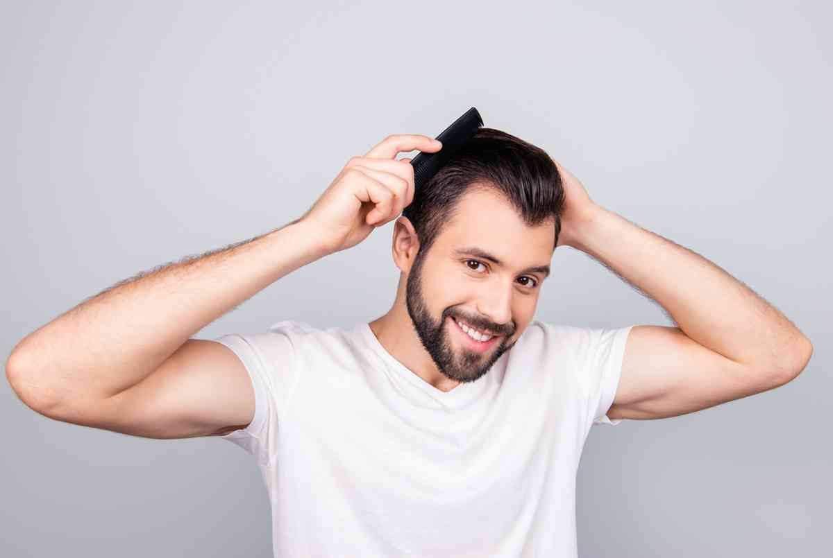 cara cepat memanjangkan rambut pria